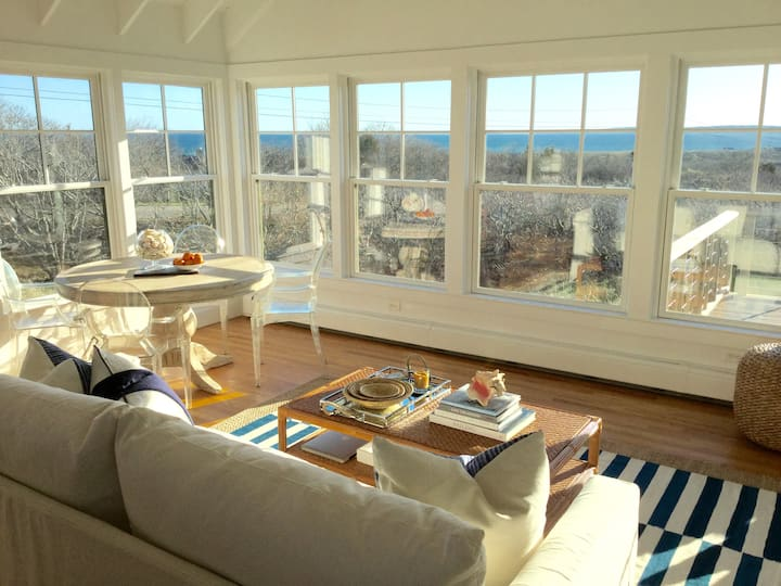 Martha's Vineyard Oceanview Retreat