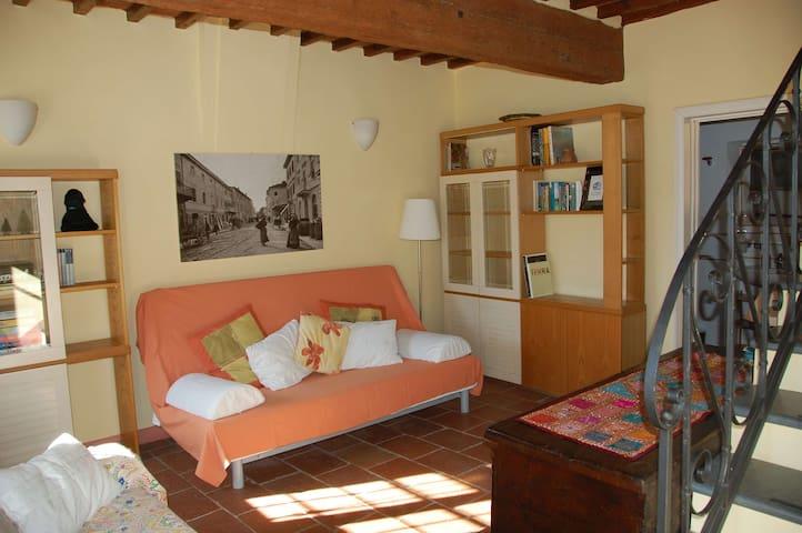 Typical tuscanian villa