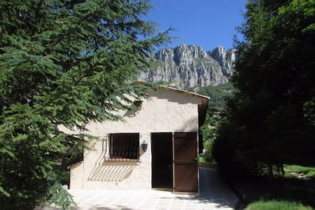 Charmant studio en montagne - Séranon - Apartamento