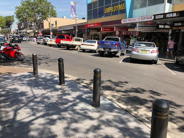 Cabramatta Shopping centre.