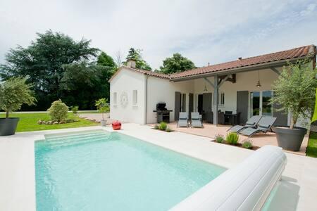 La Villa at Chateau Franc-Daut - Saint-Magne-de-Castillon - Casa