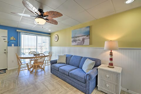 NEW! Updated Oceanside Condo - 5 Miles to Cape May