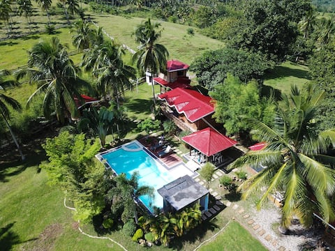 Mahogany Private Rest House with Swimming Pool