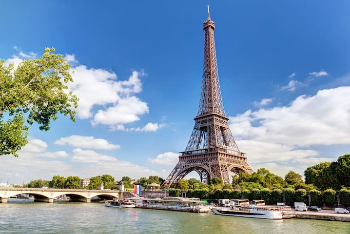 Cosy flat in Central Paris,5 min from Eiffel Tower - Paris - Appartement