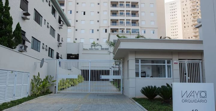 Apartamento em Santos - Condomínio Way Orquidário