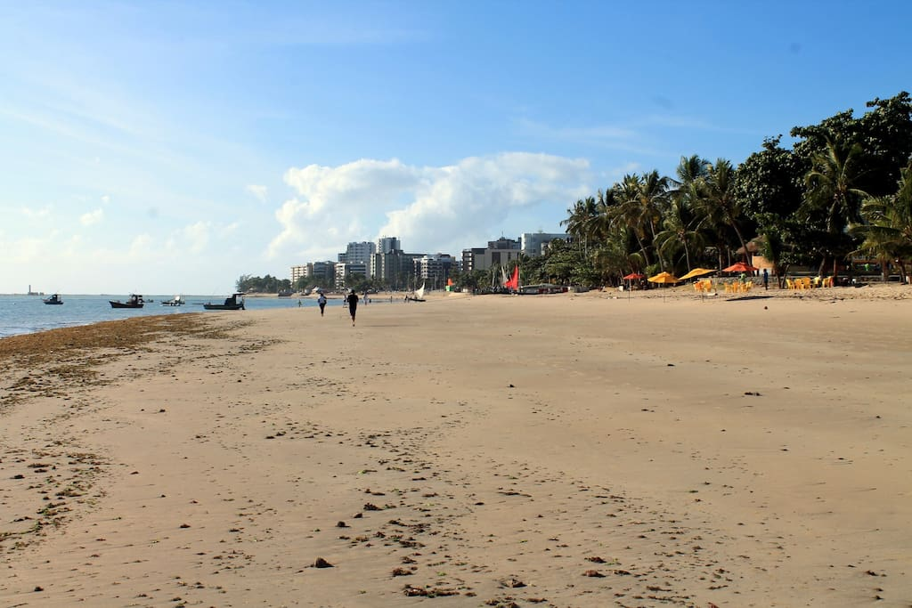 Vista da praia de Jatiúca