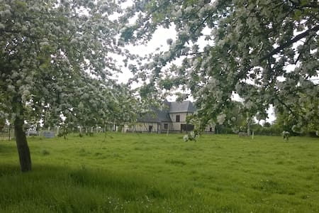 Maison normande à la campagne - Notre-Dame-d'Épine - Rumah