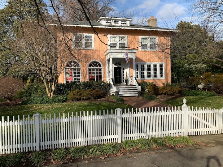 Historic Italianate Villa and Gardens in Northside
