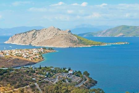 Panoramic view Villa at Aegina - Egina