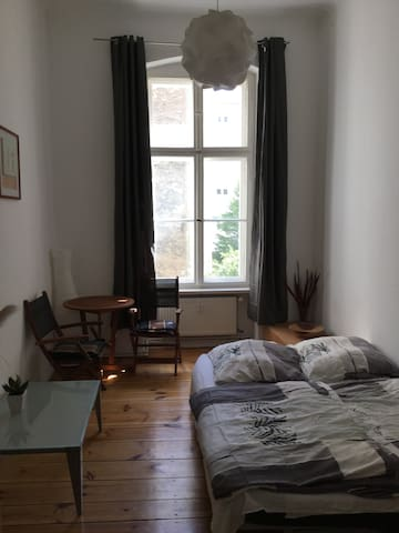 Bright room in the middle of Berlin