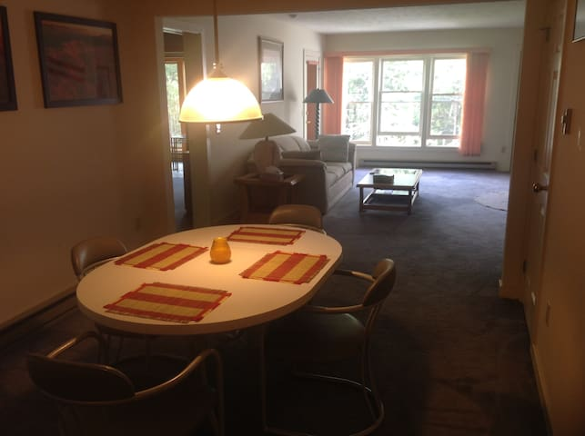 Ski condo with year around attraction close by. - Waterville Valley