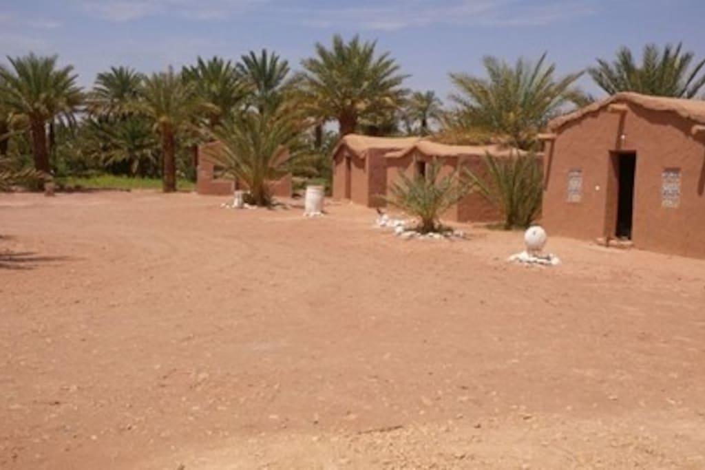 Plusieurs bungalows à votre dispostion