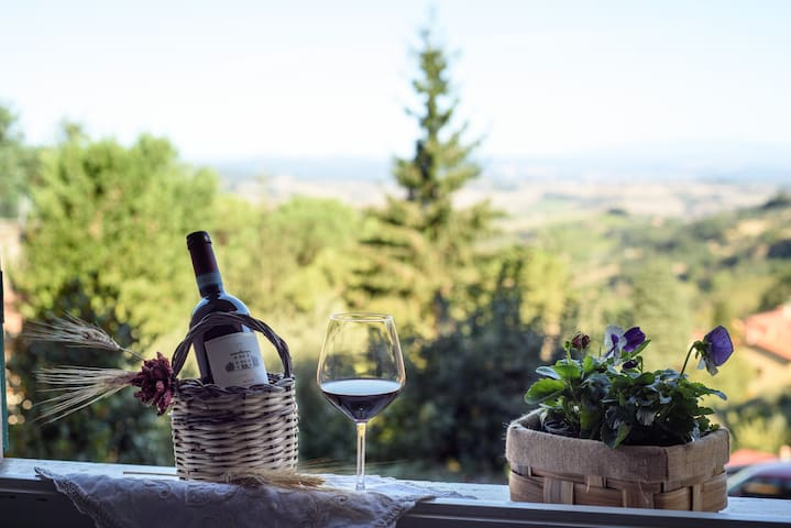 view and wine offered by us