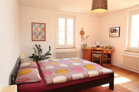 Quiet and Bright Room near the centre of Brugg