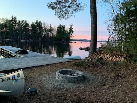 Lozier's Lookout- Lakefront, Millinocket Lake