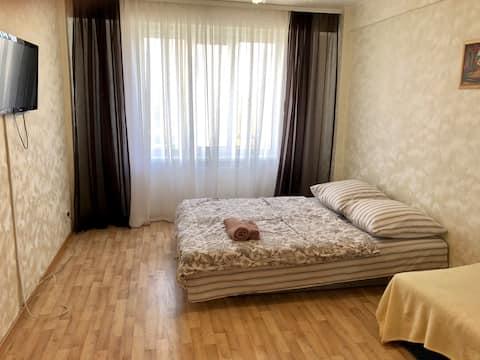 Уютная квартира на Ул. Т.Барамзиной, 5а