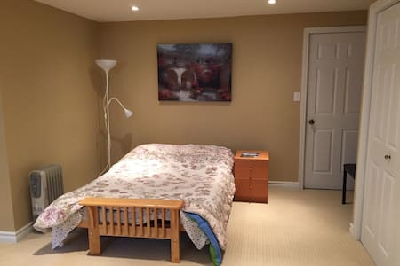 Spacious apartment steps from University of Guelph