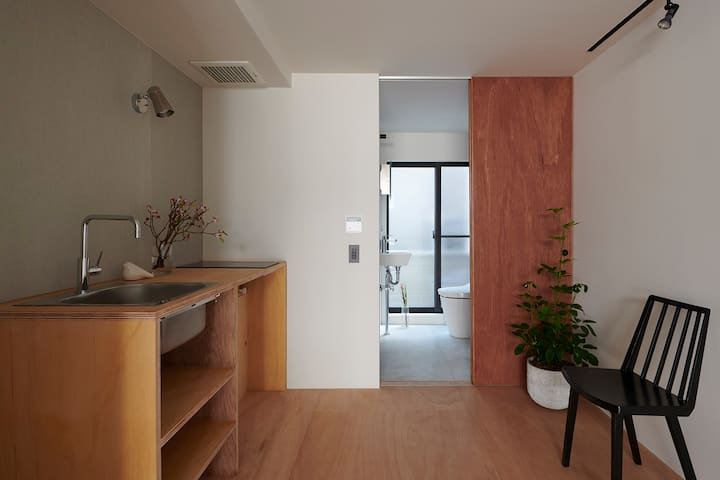 #101 Designer terrace house near Shinjuku