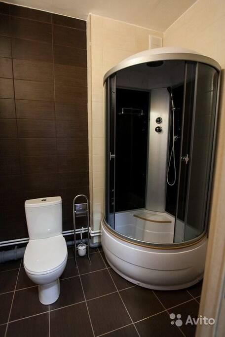 Душ,туалет
