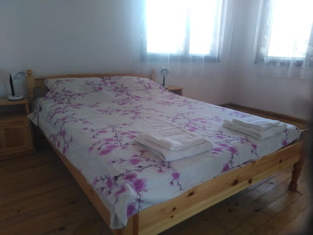 Nice Double room & private bath on Ropotamo str.