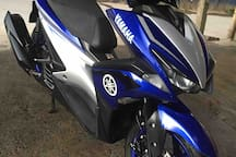 Rentable Motorbike for easy access