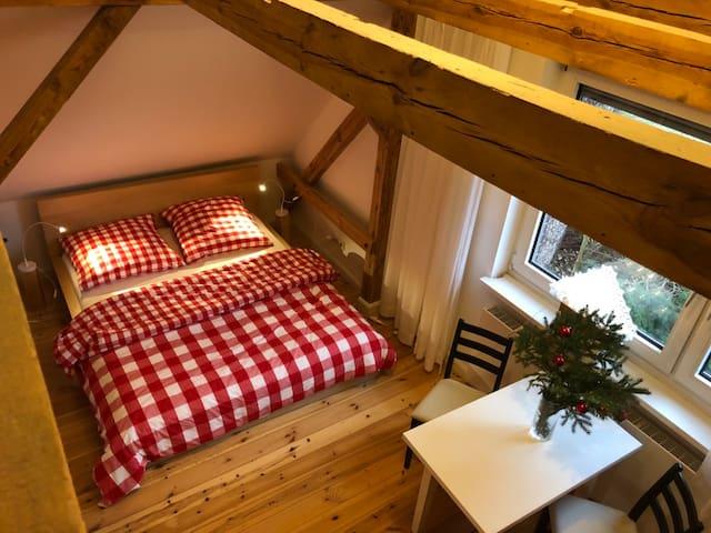 Entire top Floor, 2 quiet rooms Top S-Bahn in City