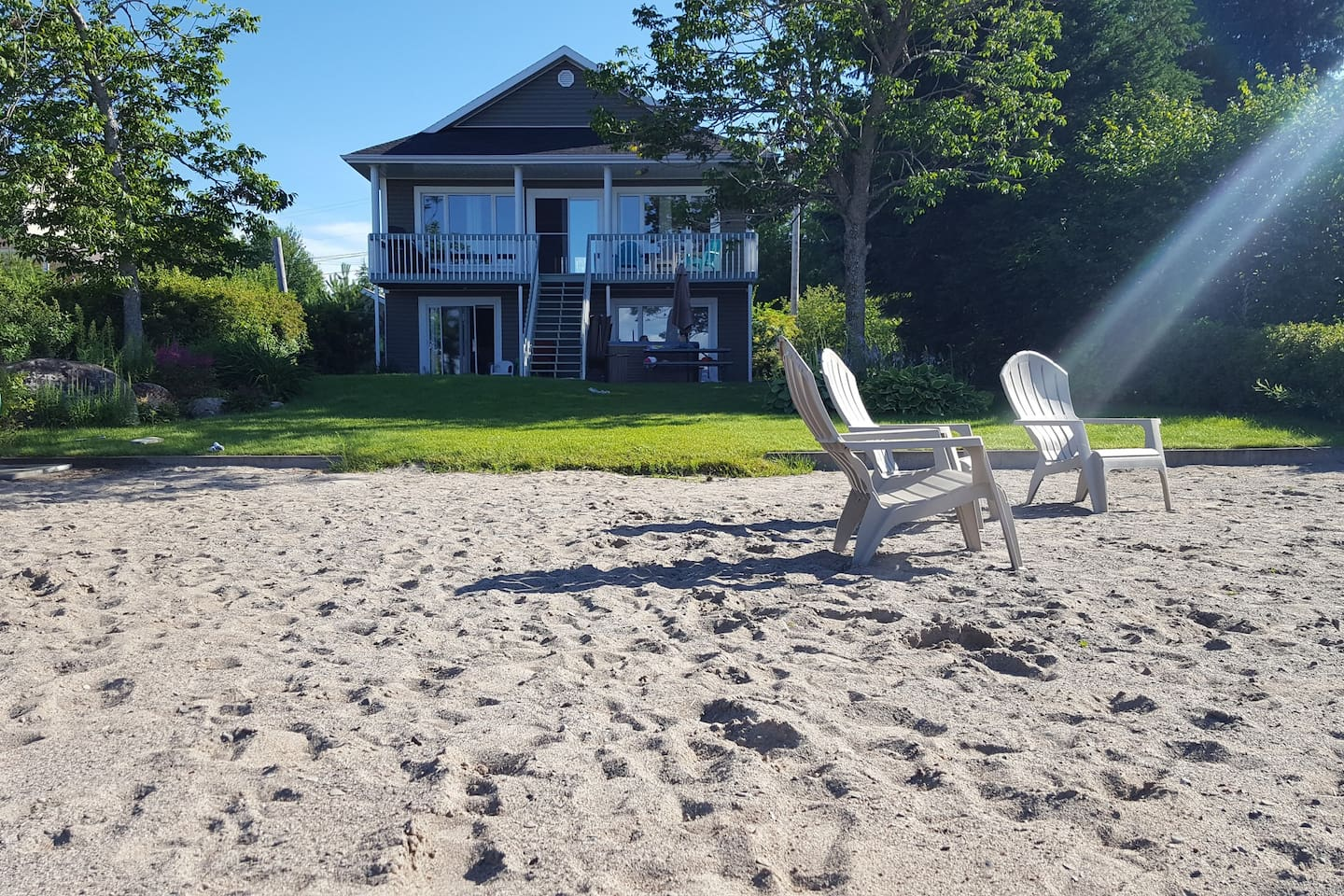 Your own beach on Lac St-Jean!