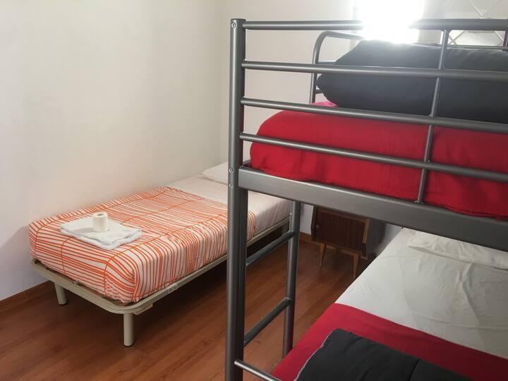 Bed in Female Dorm B