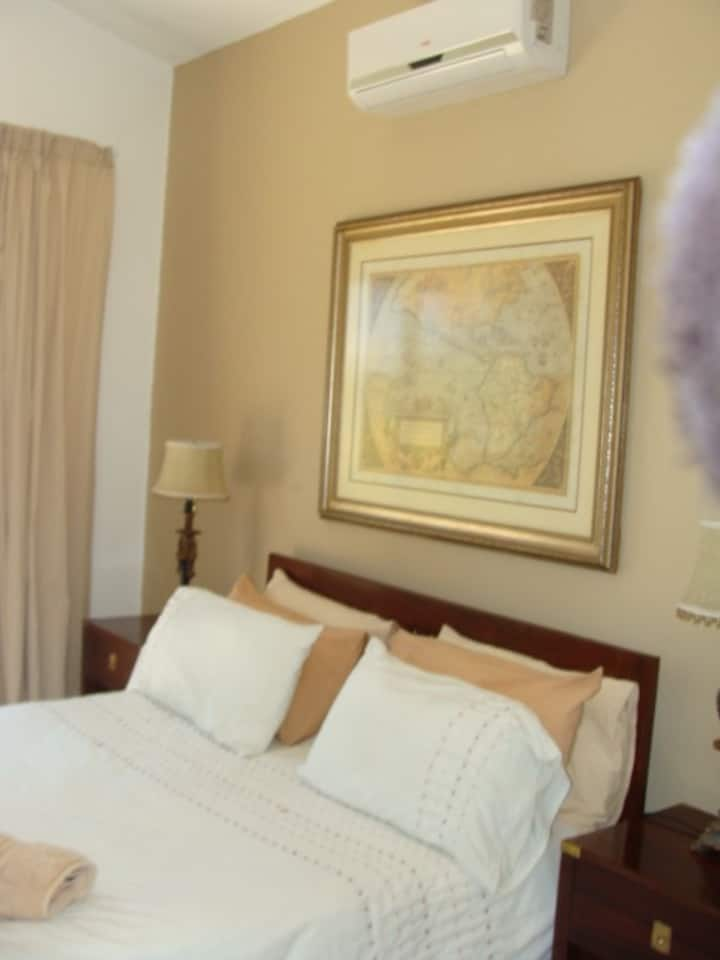 Air - Conditioned Bedroom 1  (Double Bed)