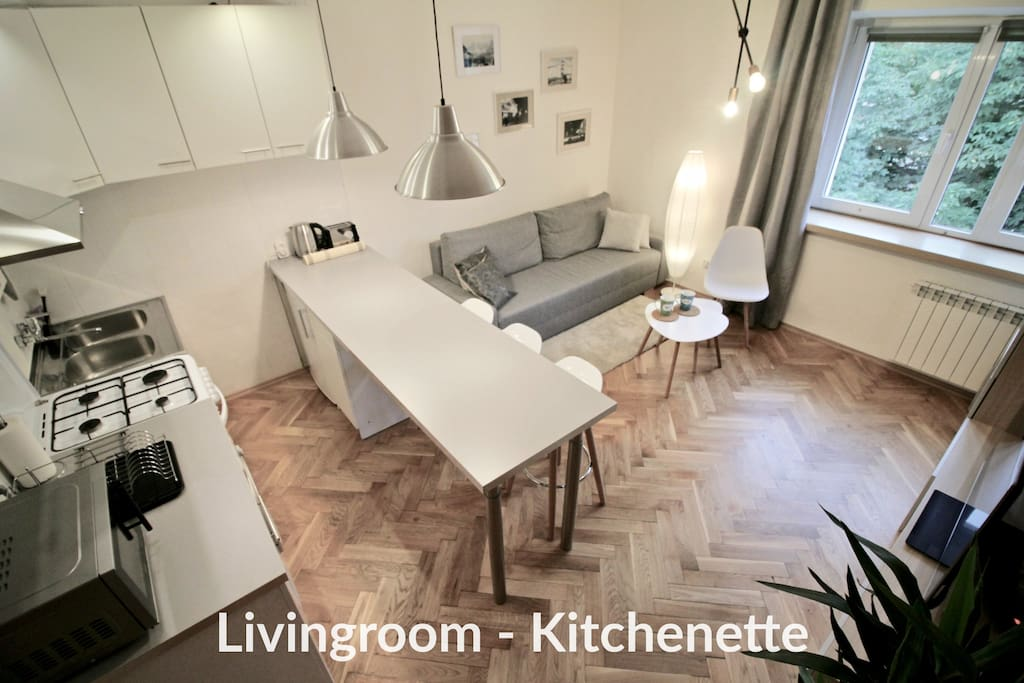 Livingroom - Kitchenette