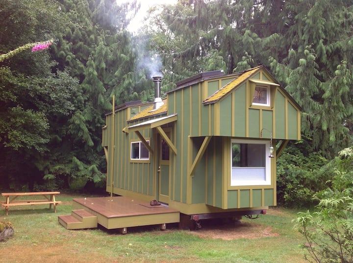 Terrapin Station-Craftsman Tiny House Langley Area