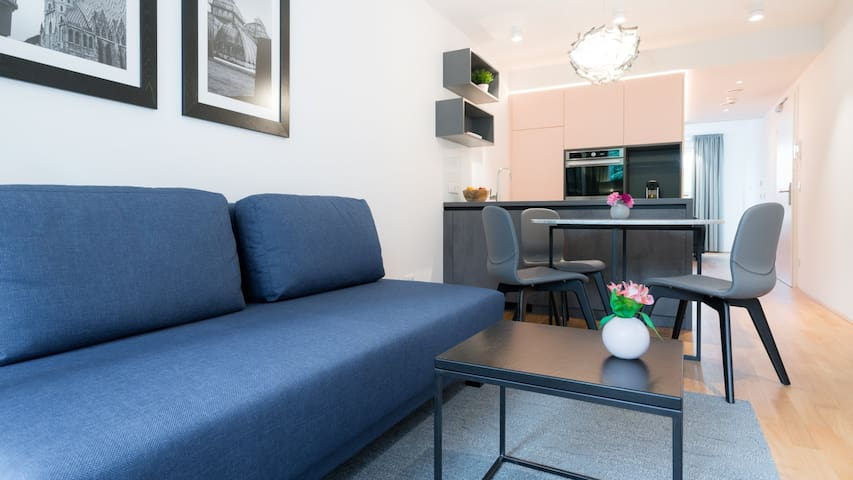 Vienna Residence | Premium business apartment with air conditioning and private terrace #6364