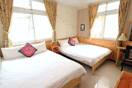 溫馨家庭四人房-感受溫馨的房間