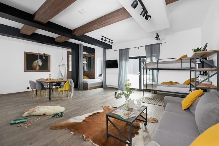 Aparthotel Narciarska 2 - Studio 6-osobowe