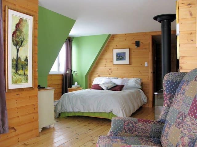 Chez Claude... petite suite. - Les Éboulements - Bed & Breakfast