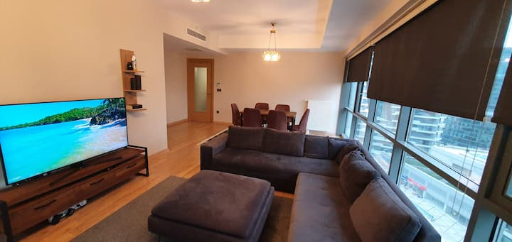KADIKOY ROOMY RESIDENCE 2+1 WITH MODERN FURNITURE