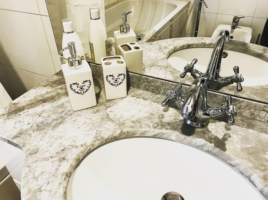 bagno privato in stanza