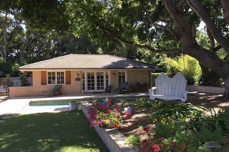 Casita Robles- 2-bedroom cottage near the beach - Montecito - Bungalow