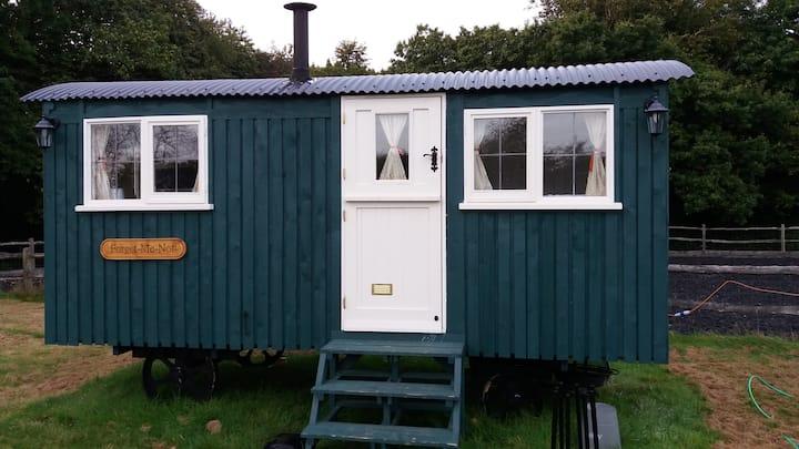 Shepherds hut (FMN)  Bluecaps Farm, Cousley Wood.