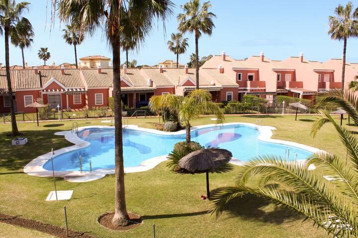 Apartamento Novo Sancti Petri  Chiclana, piscina