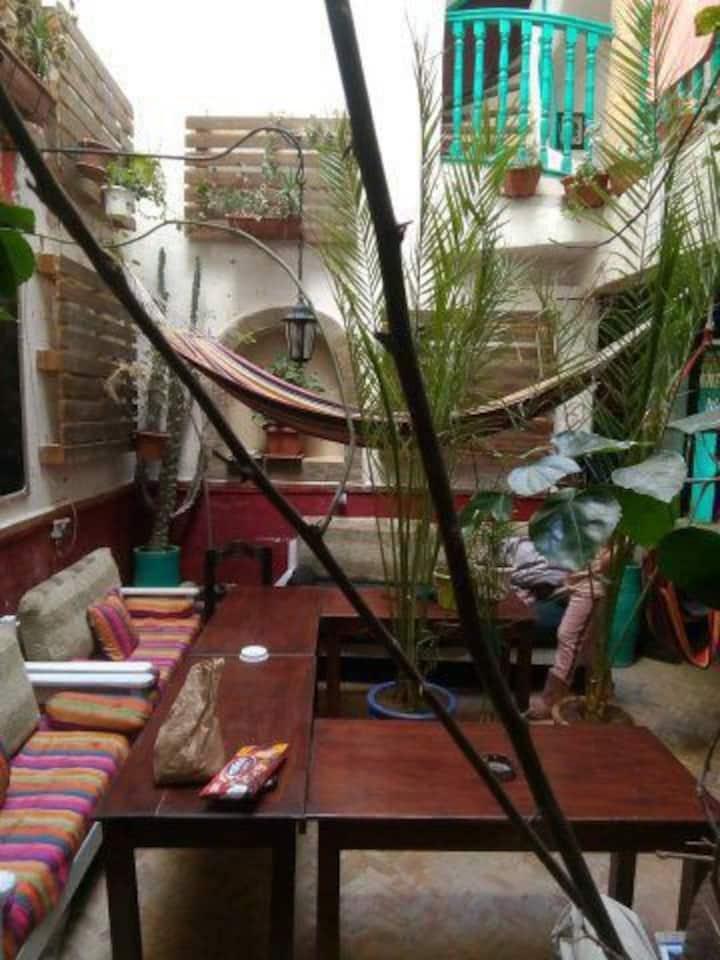 Essaouira Youth Hostel & social Travel: Twins beds