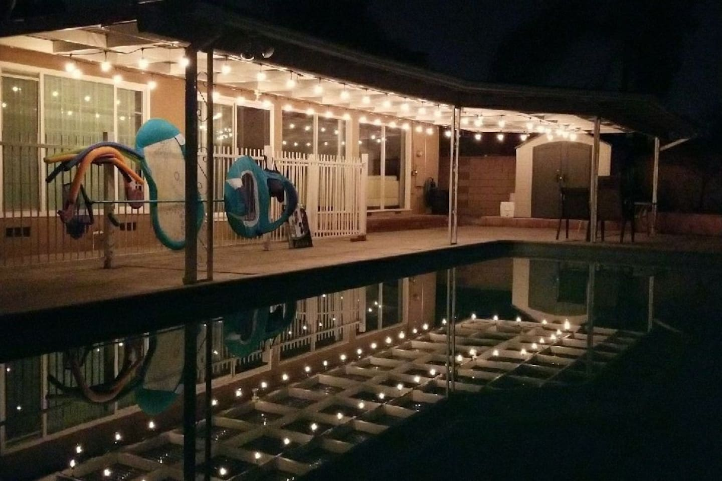 Spacious Pool House 4 miles from Disneyland - Houses for Rent in ...