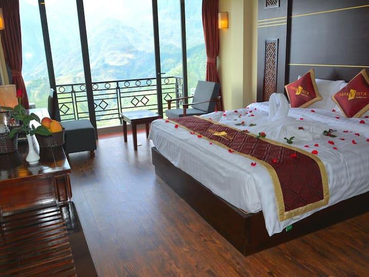 Sapa Vista Hotel - Mountain View With Balcony