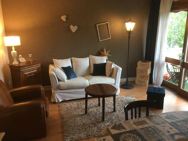 Appartement chaleureux proche de Paris.