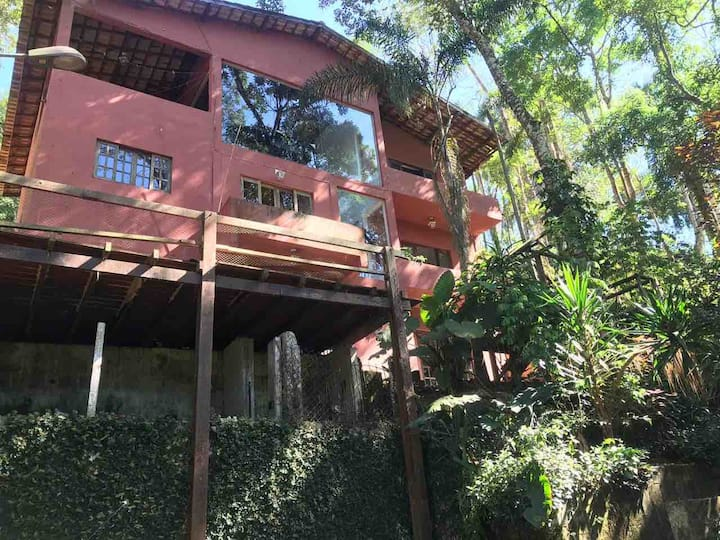 Casa de Campo 40km de SP Friozinho com lareira