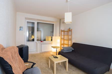 Уютная и светлая квартира / Clean and nice apt - Moskva - Apartemen