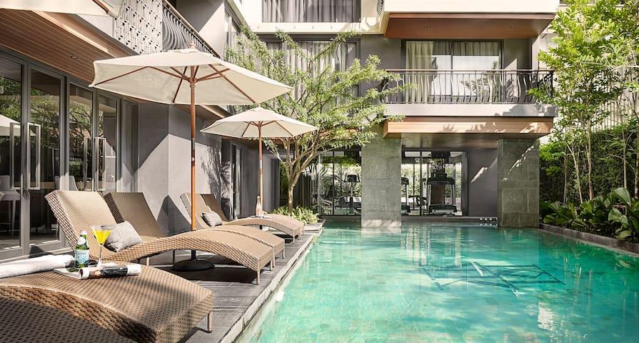 Brand new apt in the heart of Bangkok (70 sq.m.) - Bangkok - Apartment