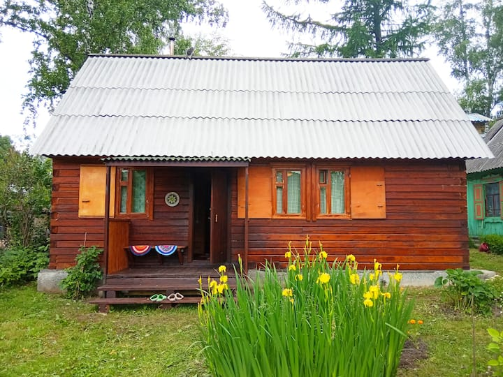 Cozy Eco House in nature near the city center
