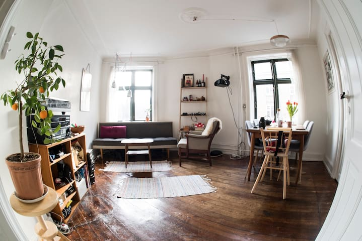3 rooms in awesome Nørrebro!