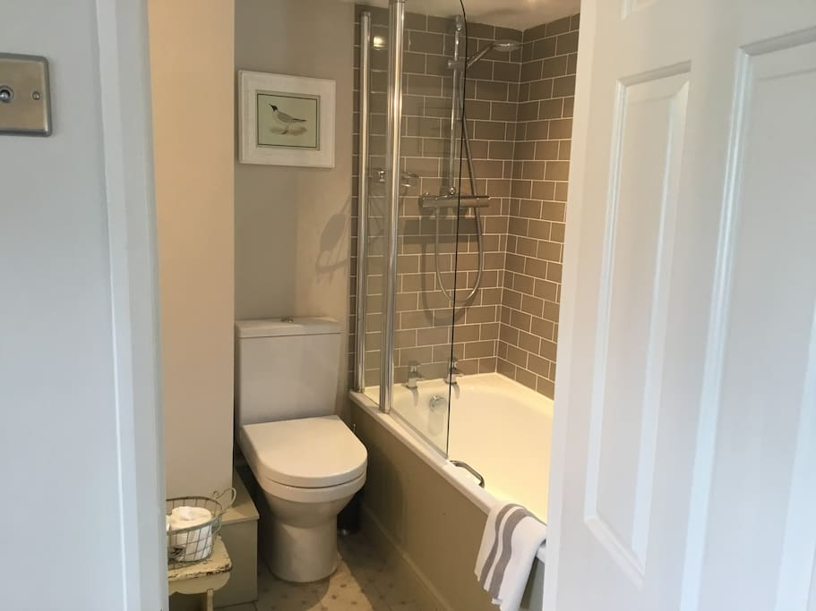 Your own ensuite bathroom with Bramley toiletries